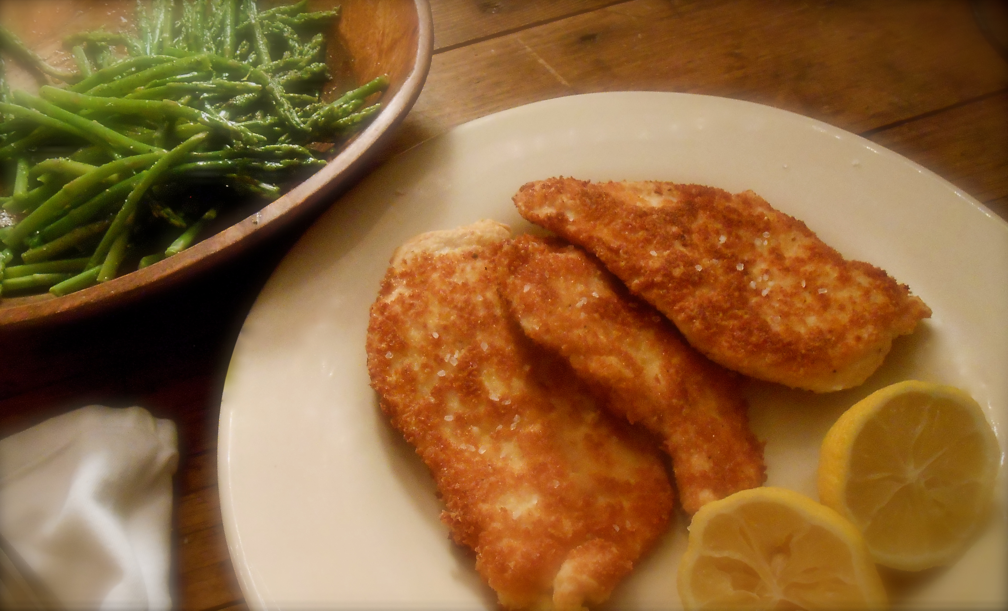 parmesan chicken cutlets | COTTAGE GROVE HOUSE
