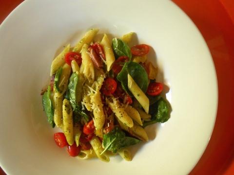 bacon lettuce tomato pasta